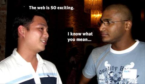 Making friends in Malaysia